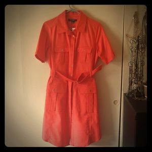 NWT Shirt Dress Flame